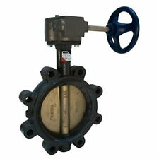 12 NIBCO LD-2000-5 DI LUG STYLE GEAR OP BUTTERFLY VALVE