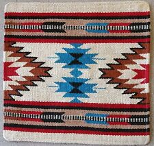 Wool Pillow Cover HIMayPC-54 Hand Woven Southwest Southwestern 18X18