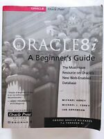 BOOK ORACLE 8 i A BEGINNER'S GUIDE ORACLE PRESS OSBORNE 0072122048 ORACLE8i