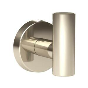 Amerock Arrondi Single Robe Hook in Polished Stainless Steel
