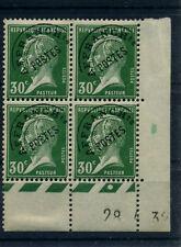 FRANCE PASTEUR PREO N° 66 COIN DATE DU 28/04/1932 NEUF * AVEC CHARNIERE A VOIR