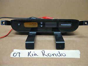 2007 KIA RONDO  DASH DIGITAL CLOCK