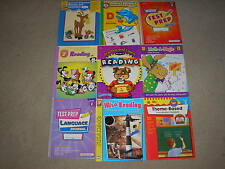 Lot of 9 Grade 2 Second Grade Workbooks Test Prep Evanmoor Reading Phonics Math