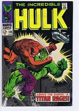 Incredible Hulk #106 Marvel 1968