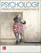 Looseleaf for Psychology: Perspectives and Connections by Gregory Feist and.