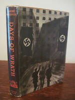 Days of Wrath Andre Malraux Novel 1st Edition First Printing Fiction