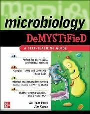 Microbiology Demystified, Keogh, James, Betsy, Tom, Good Condition, Book