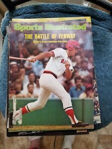 7/7/75 SPORTS ILLUSTRATED WITH RED SOX ROOKIE FRED LYNN    GROBEE1957