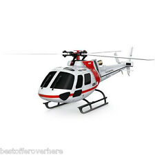 XK K123 2.4GHz 6CH Brushless 3 Blade RC Helicopter with 3D and 6G System RTF