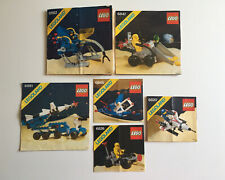 LEGO 6x LOT Classic Space Instruction Manual - 6845 6820 6826 6881 6847 6882