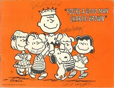 You'Re A Good Man Charlie Brown c. 1967 Musical Program Booklet Peanuts Schulz