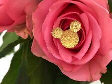 Set of 12 Hidden Mickey Flower Pin-Yellow Centerpiece-Bridal Bouquet-Boutonniere