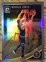 Nikola Jokic OPTIC SILVER PRIZM 🔥 Parallel 🔥 2018-19 Denver Nuggets MVP
