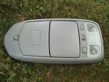 2000 - 2003 MAZDA MPV OVER HEADCONSOLE DOOM LIGHT STORAGE GRAY OEM