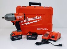 "Milwaukee 2767-22 M18 Fuel 1/2"" High Torque Impact Wrench Kit w/ Friction Ring"
