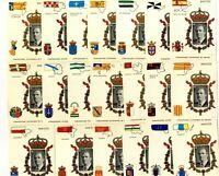 Pruebas de España Autonomias 1995 nº 37/56 Juego completo Juan Carlos