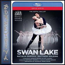 TCHAIKOVSKY SWAN LAKE - THE ROYAL BALLET  **BRAND NEW BLU-RAY **