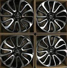 22 RANGE ROVER AUTOBIOGRAPHY SUPERCHARGE WHEELS RIMS OEM 2017 OPEN BOX SET OF 4