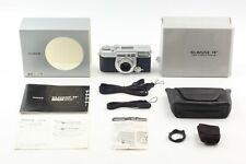 【TOP MINT in BOX CASE】 Fujifilm Fuji Klasse W Silver 35mm Film Camera from JAPAN