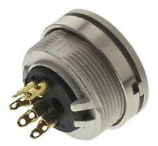 Lumberg KFV Series, 5 Pole Din Socket Socket, DIN EN 60529, 5A, 60 V ac IP40