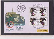 BRD-1998-Briefm.-Ausst.-Beleg-Tel Aviv-Israel-13-21-05-1998-Mi:1972- So-Stpl.