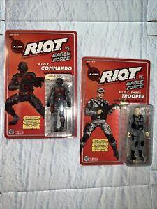 Fresh Monkey Fiction Eagle Force Returns - NEW RIOT Commando & Shock Trooper