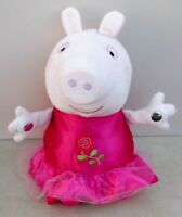 Peppa Pig's RING A ROSES PEPPA PIG Ballet Dancer Hold Hands & Sing Soft Plush