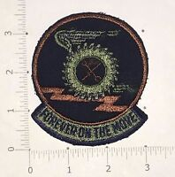 Forever On The Move Patch - USAF - Air Force Transportation Squadron vintage