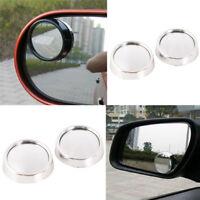 2PC Car Vehicle Blind Spot Dead Zone Mirror Rear View Mirror'Auto Side 360Deg.FR