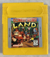 Donkey Kong Land (Nintendo Gameboy, 1995) GB Authentic Tested Works Save Works