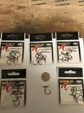25 hooks ( Size 1/0 ) Matzuo 97001 Drop Shot Swivel Swivels Hooks (5 packs of 5)