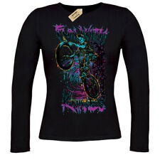 Fun with knives T-Shirt biker zombie demon T-Shirt ladies long sleeve
