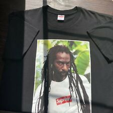 Supreme Buju Banton Picture T Shirt