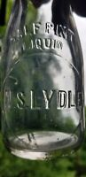 W. S. Lydle Half Pint Milk Bottle From East Aurora, New York