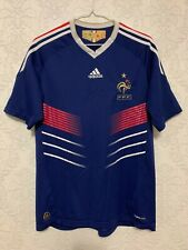 France Home football shirt 2009-2011 Soccer Adidas Size M P41040