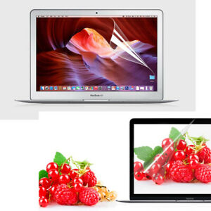 """HD Clear Screen Protector Cover Skin for Macbook Air Pro 11"""" 12"""" 13"""" 15-inch"""