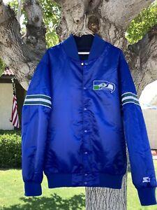 Seattle Seahawks Starter G-III Reversible Jacket Blue XL