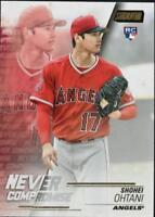 2018 Topps Stadium Club Baseball Never Compromise Singles (Pick Your Cards)