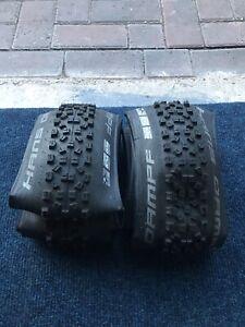 Brand new unused schwalbe hans dampf 27.5 X 2.35 650b mountain bike tyres Mtb