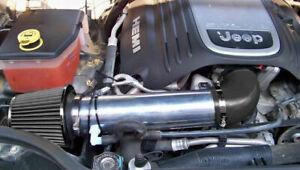BCP BLACK 05-10 Grand Cherokee Commander 5.7L 6.1L SRT8 Short Ram Intake +Filter