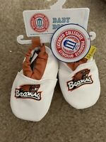 NWT NCAA Oklahoma State Cowboys OSU Baby Boy//Girl Booties Shoes Size 0-6 Months