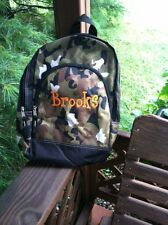Camo Personalized Monogrammed Back Pack Book Bag Hunting Military Children's