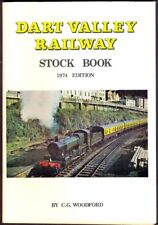 DART VALLEY RAILWAY STOCK BOOK, 1974 Edition. 70-Page Softback. Free UK Post