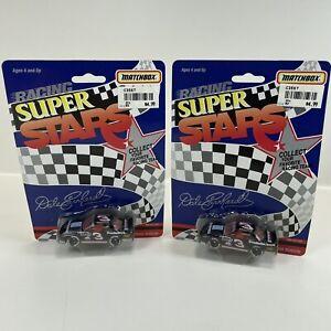 Vintage 1991 NASCAR DALE EARNHARDT #3 MATCHBOX RACING SUPER STARS 1:64 QTY (2)