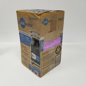 InSinkErator Badger 1 Garbage Disposal 1/3 HP Continuous Feed New in Box