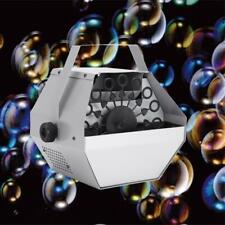 Automatic Bubble Machine Maker 30W Auto Blower DJ Party Stage Wedding Silver