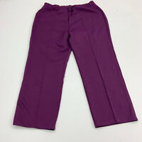 Lucky Britches Pants Womens Size 40 Purple Straight Leg Ankle Length