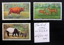 THAILAND 1976 Wildlife As Described U/M NC587