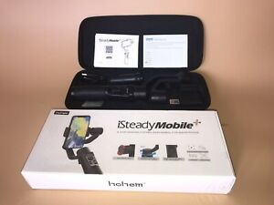 Hohem iSteady Mobile Plus 3-Axis Gimbal Stabilizer For Smartphone + Stand & Case