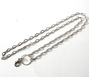 40pcs 73cm/28.8'' Alloy Silver Necklace Chains For Pendants/Glass lockets